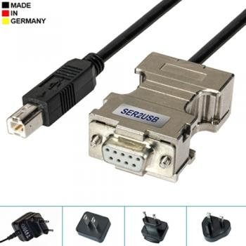 SER2USB-Cable Seriell/RS232 zu USB Adapter